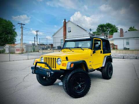 2004 Jeep Wrangler for sale at ARCH AUTO SALES in St. Louis MO