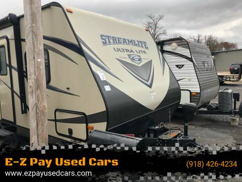 2015 Gulf Stream Steamlite Ultra Lite for sale at E-Z Pay Used Cars in McAlester OK