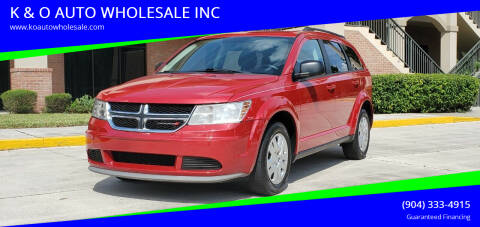 2018 Dodge Journey for sale at K & O AUTO WHOLESALE INC in Jacksonville FL