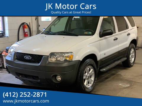 2007 Ford Escape for sale at JK Motor Cars in Pittsburgh PA