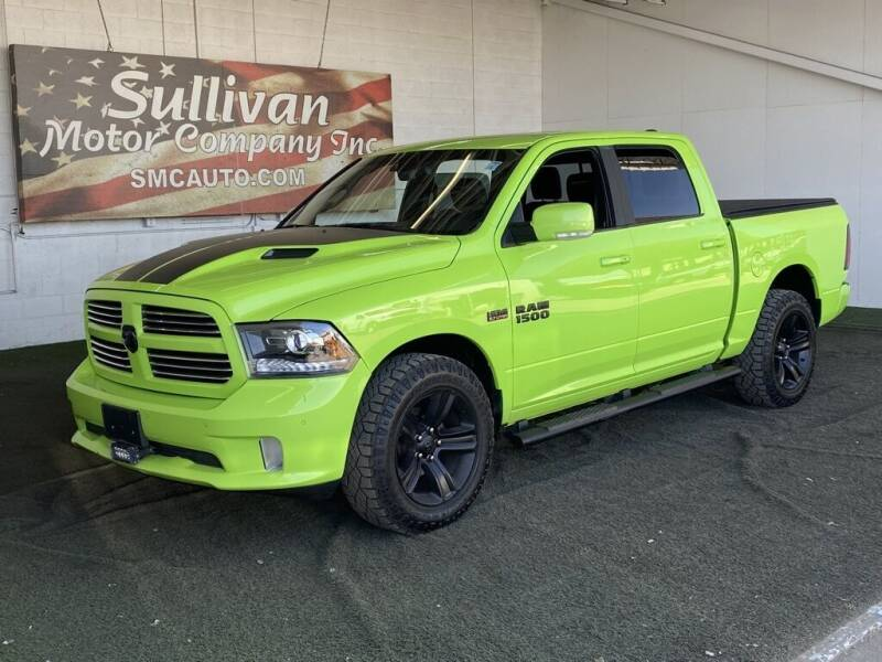 2017 RAM Ram Pickup 1500 for sale at SULLIVAN MOTOR COMPANY INC. in Mesa AZ