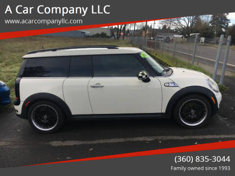 2010 MINI Cooper Clubman for sale at A Car Company LLC in Washougal WA