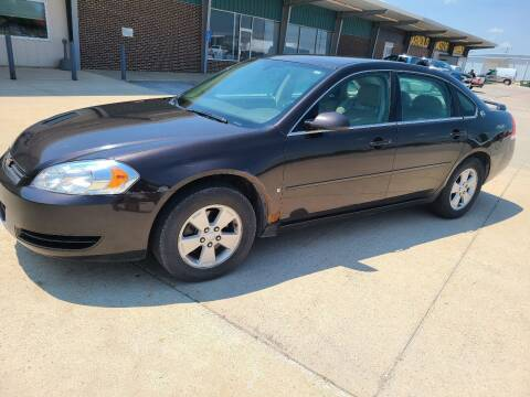 2008 Chevrolet Impala for sale at BROTHERS AUTO SALES in Eagle Grove IA