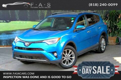 2016 Toyota RAV4 Hybrid for sale at Best Car Buy in Glendale CA