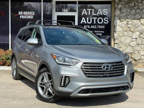 2017 Hyundai Santa Fe for sale at ATLAS AUTOS in Marietta GA