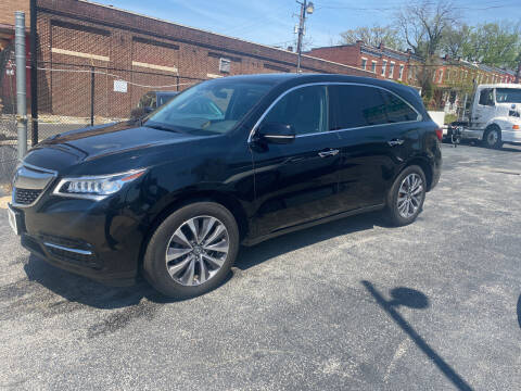 2016 Acura MDX for sale at Murrays Used Cars in Baltimore MD