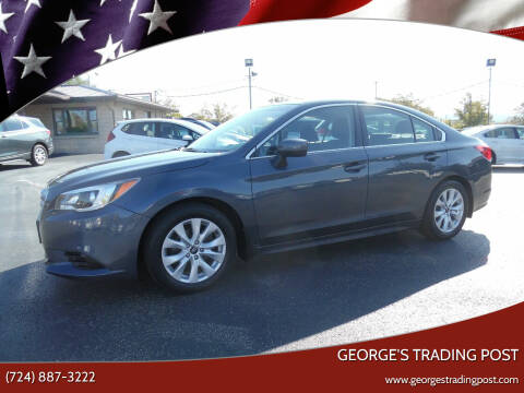 2017 Subaru Legacy for sale at GEORGE'S TRADING POST in Scottdale PA