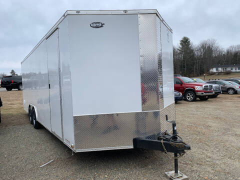 2020 Diamond C 24' Enclosed for sale at Ripley & Fletcher Pre-Owned Sales & Service in Farmington ME