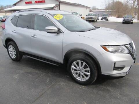 2018 Nissan Rogue for sale at Thompson Motors LLC in Attica NY