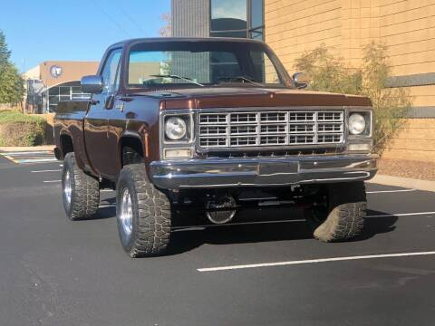 1979 Chevrolet C/K 10 Series for sale at Scottsdale Collector Car Sales in Tempe AZ