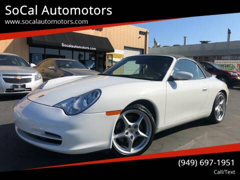 2003 Porsche 911 for sale at SoCal Auto Motors in Costa Mesa CA