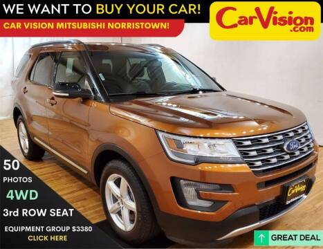 2017 Ford Explorer for sale at Car Vision Mitsubishi Norristown in Trooper PA