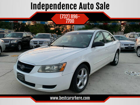 2007 Hyundai Sonata for sale at Independence Auto Sale in Bordentown NJ