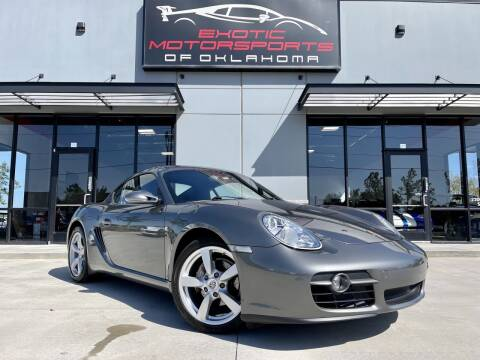 2008 Porsche Cayman for sale at Exotic Motorsports of Oklahoma in Edmond OK