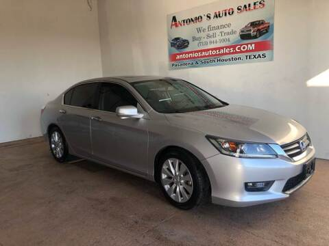 2015 Honda Accord for sale at Antonio's Auto Sales - Antonio`s  3001 in Pasadena TX