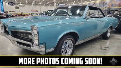 1967 Pontiac GTO for sale at UNIQUE SPECIALTY & CLASSICS in Mankato MN