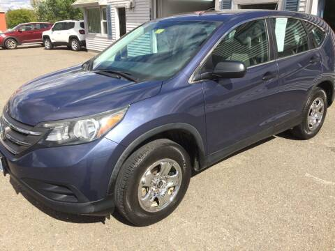 2013 Honda CR-V for sale at CLARKS AUTO SALES INC in Houlton ME