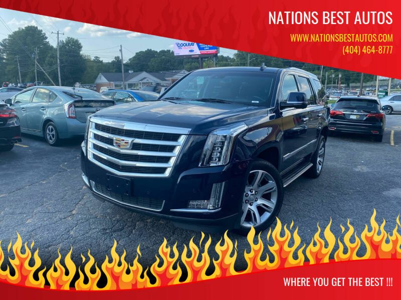 2018 Cadillac Escalade for sale at Nations Best Autos in Decatur GA