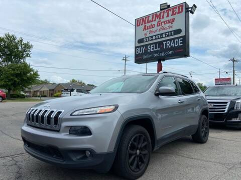 2015 Jeep Cherokee for sale at Unlimited Auto Group in West Chester OH
