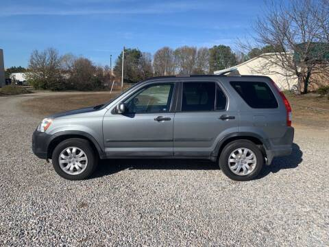 2006 Honda CR-V for sale at MEEK MOTORS in North Chesterfield VA