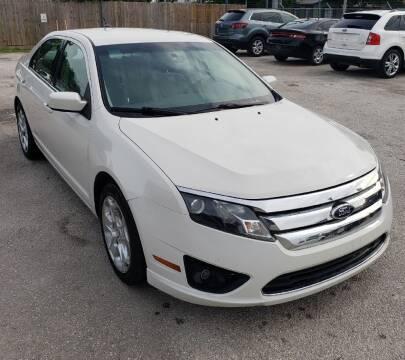 2011 Ford Fusion for sale at Apex Auto SA in San Antonio TX