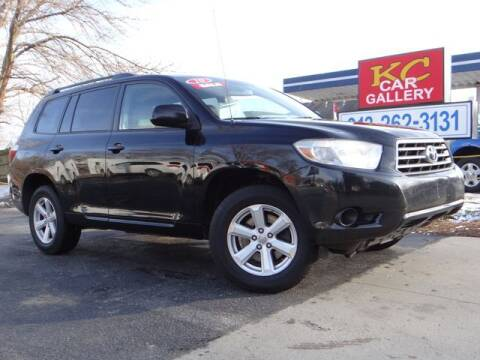 2010 Toyota Highlander for sale at KC Car Gallery in Kansas City KS