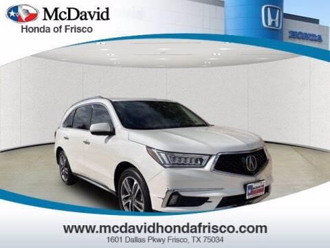 2018 Acura MDX for sale at DAVID McDAVID HONDA OF IRVING in Irving TX
