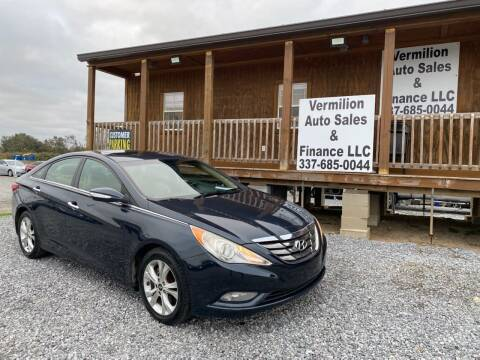 2013 Hyundai Sonata for sale at Vermilion Auto Sales & Finance in Erath LA