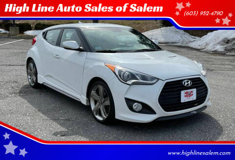 2014 Hyundai Veloster for sale at High Line Auto Sales of Salem in Salem NH