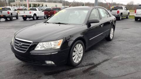 2009 Hyundai Sonata for sale at Moores Auto Sales in Greeneville TN