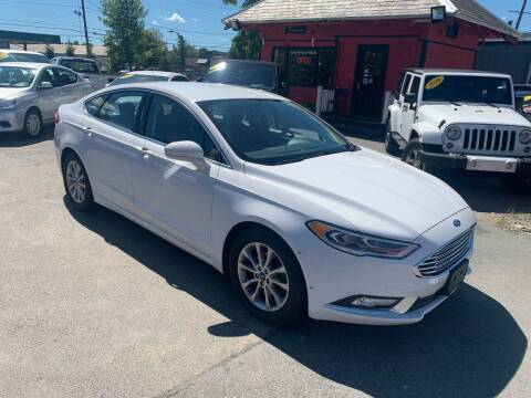 2017 Ford Fusion for sale at Mass Auto Exchange in Framingham MA