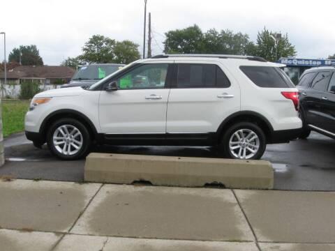 2012 Ford Explorer for sale at MCQUISTON MOTORS in Wyandotte MI