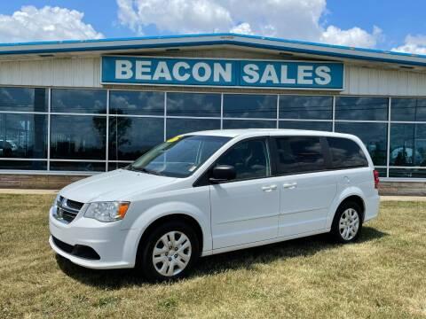 2015 Dodge Grand Caravan for sale at BEACON SALES & SERVICE in Charlotte MI