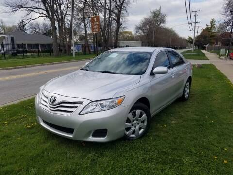 2011 Toyota Camry for sale at RBM AUTO BROKERS in Alsip IL