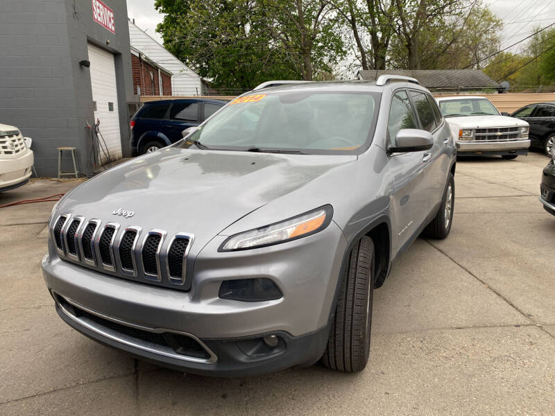 2014 Jeep Cherokee for sale at Matthew's Stop & Look Auto Sales in Detroit MI