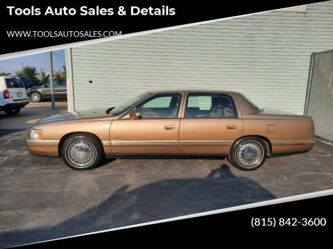 1998 Cadillac DeVille for sale at Tools Auto Sales & Details in Pontiac IL
