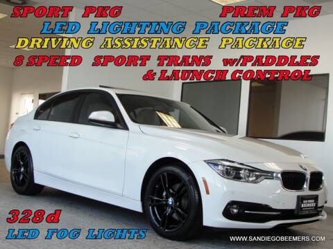 2016 BMW 3 Series for sale at SAN DIEGO BEEMERS in San Diego CA