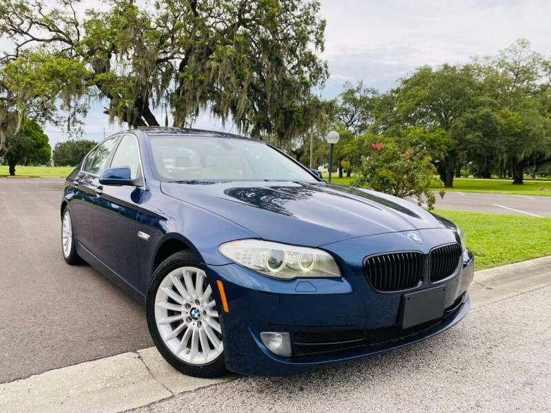 2011 BMW 5 Series for sale at FLORIDA MIDO MOTORS INC in Tampa FL