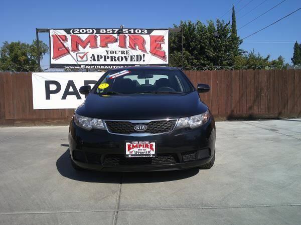 2013 Kia Forte for sale at Empire Auto Sales in Modesto CA