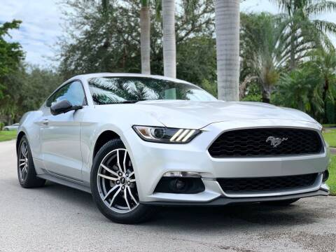2015 Ford Mustang for sale at HIGH PERFORMANCE MOTORS in Hollywood FL