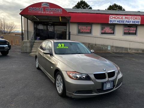 2007 BMW 3 Series for sale at Choice Motors of Salt Lake City in West Valley  City UT