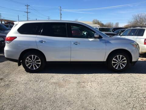 2013 Nissan Pathfinder for sale at Kings Auto Sales in Cadiz KY