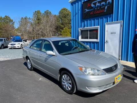 2005 Toyota Camry for sale at The Shop at Easton in Easton MD