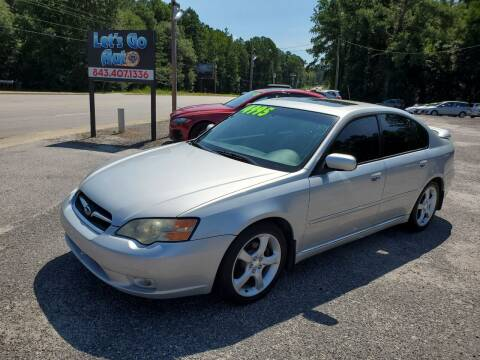 2006 Subaru Legacy for sale at Let's Go Auto in Florence SC