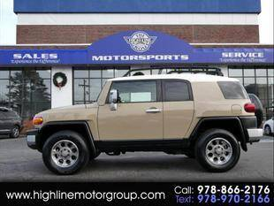 2012 Toyota FJ Cruiser for sale at Highline Group Motorsports in Lowell MA