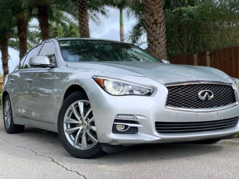 2016 Infiniti Q50 for sale at HIGH PERFORMANCE MOTORS in Hollywood FL