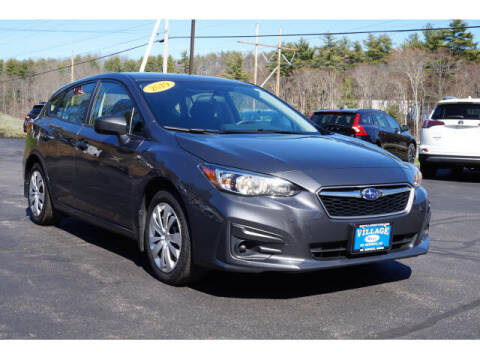 2019 Subaru Impreza for sale at VILLAGE MOTORS in South Berwick ME