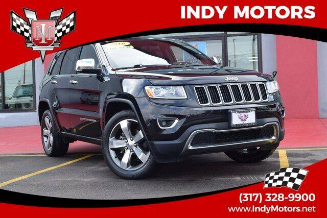 2016 Jeep Grand Cherokee for sale at Indy Motors Inc in Indianapolis IN