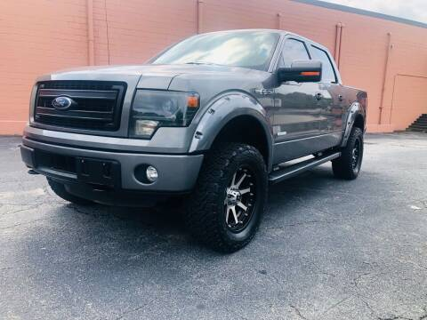 2014 Ford F-150 for sale at DUNCAN AUTO SALES, INC in Cartersville GA