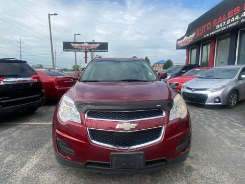 2010 Chevrolet Equinox for sale at Washington Auto Group in Waukegan IL